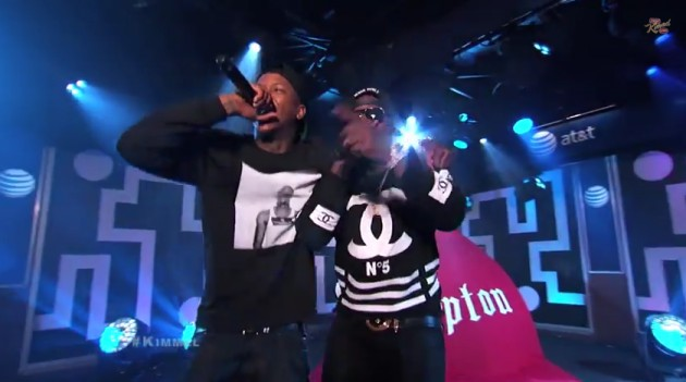 yg jeezy 630x351 1 YG Brings Out Jeezy On Jimmy Kimmel Live! Video)