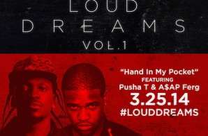 Sean C & LV – Hand In My Pocket Ft. Pusha T & ASAP Ferg