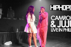 Cam'ron Performs Live & Brings Out Juju At The TLA In Philly (04/03/14) (Video)