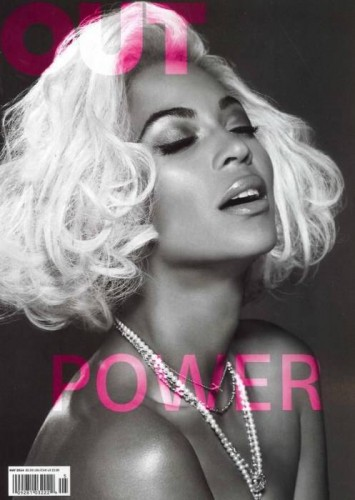 Beyonce-Out-Magazine-Power-Issue-355x500 Beyoncé Covers Out Magazine's Power Issue (Photos)