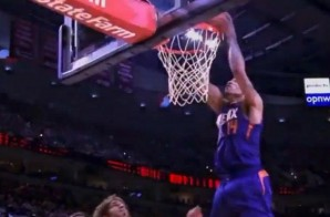 Gerald Green Serves it Off the Backboard to Himself for a Nasty Dunk (Video)