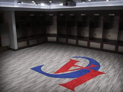 Clippers Locker Room 500x375 Oprah, Diddy, Rick Ross, Floyd Mayweather & Dr. Dre All Interested in Buying the Los Angeles Clippers