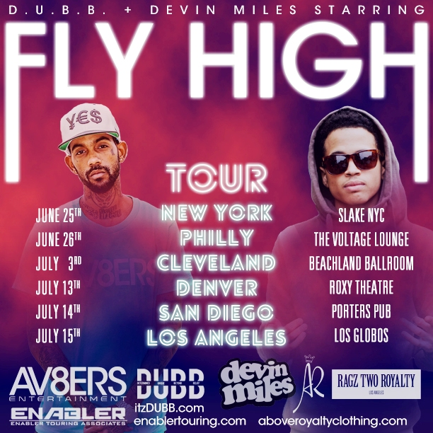 DUBB & Devin Miles - Fly High Tour (Official Art)