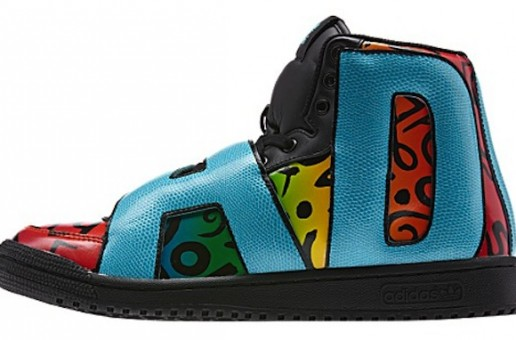 "Jeremy Scott x Adidas Letters ""Multicolor"" (Photos)"