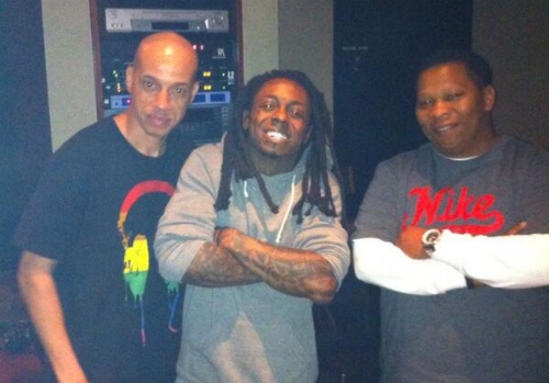 Lil_Wayne_Mannie_Fresh_In_The_Studio_Together_
