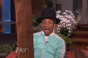 Pharrell Appears On Ellen (Video)