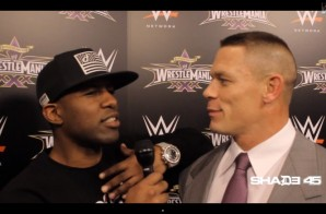 DJ Whoo Kid Interviews Hulk Hogan & John Cena for Wrestlemania 30 (Video)
