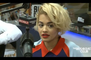"Rita Ora Talks Starring in the film ""Fifty Shades of Grey"" & More with The Breakfast Club (Video)"