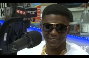 Lil Boosie Sits Down with The Breakfast Club (Video)