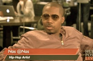 Nas Talks his Career, Fatherhood & More on HuffPost Live (Video)