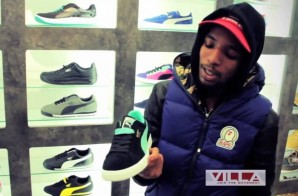 Rockie Fresh Goes Puma Shopping at VILLA (Video)