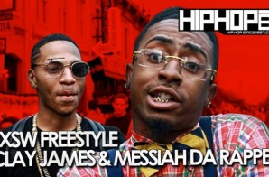 HHS1987: SXSW Freestyle – Clay James & Messiah Da Rapper