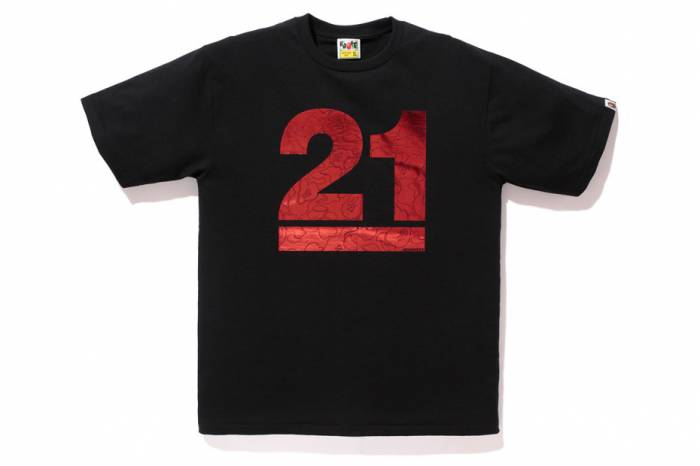 b2 BAPE Celebrates 21st Anniversary With A Special Collection Of 21 Branded Tees