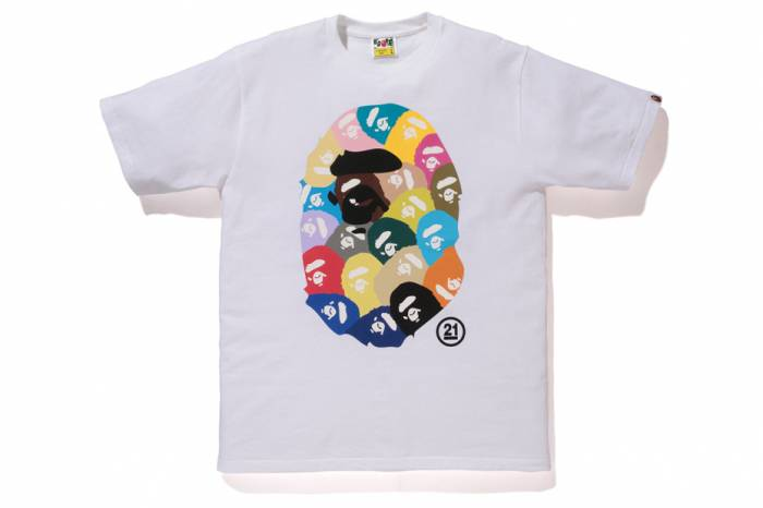 b3 BAPE Celebrates 21st Anniversary With A Special Collection Of 21 Branded Tee's