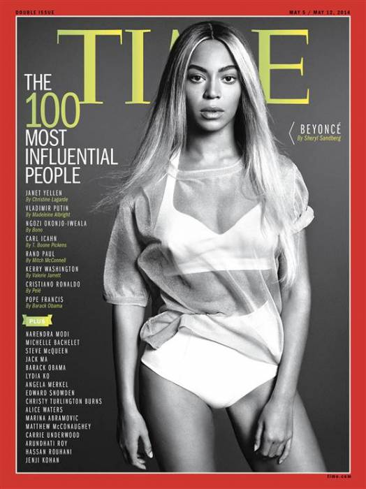 "beyonce Time Magazine Selects Beyonce To Cover Their ""The 100 Most Influential People"" Issue"