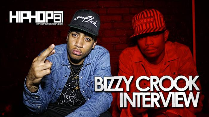 bizzy crook interview Bizzy Crook Talks Recording at Quad Studios, Upcoming Mixtape No Hard Feelings, XXL Freshman Cover & More With HHS1987