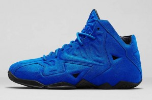 "Nike LeBron 11 EXT ""Blue Suede"" (Photos)"