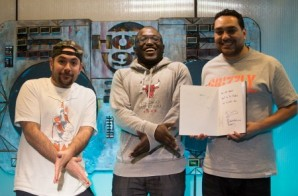 Hannibal Buress Joins The Juan Epstein Gang For A One Of A Kind Rap Chat (Video)
