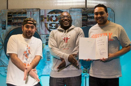 hannibal-juan-450x296 Hannibal Buress Joins The Juan Epstein Gang For A One Of A Kind Rap Chat (Video)