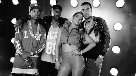 iluhyapapiremix Jennifer Lopez – I Luh Ya Papi (Remix) ft. French Montana, Big Sean & Tyga