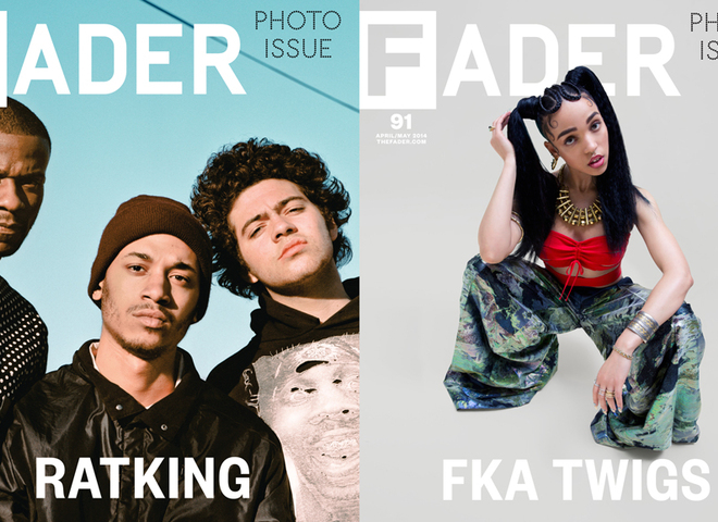 large1 FKA Twigs & RATKING Cover The FADER