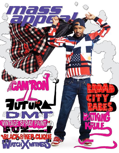 massappealcovercamron Cam'ron Covers Issue #54 Of Mass Appeal Magazine!