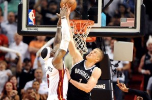 Is Brooklyn In the House: Mason Plumlee Blocks Lebron's Dunk to Complete the Sweep of the Heat (Video)