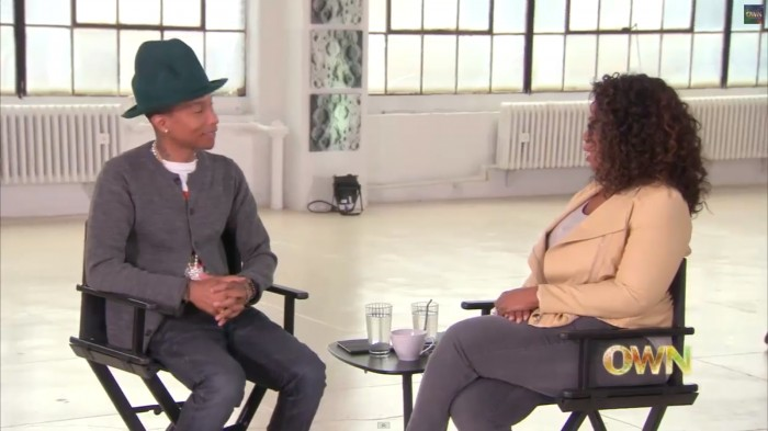 pharrell-2 Pharrell On 'Oprah Prime' (Preview) (Video)
