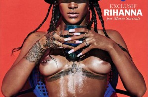 Rihanna Chooses To Wear Her Birthday Suit On The Cover Of Lui (Photo)