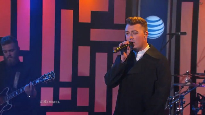 sam 1 Sam Smith   Money On My Mind (Live On Jimmy Kimmel) (Video)