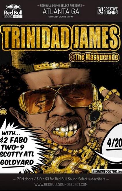 tjamesredbull Trinidad Jame$ - B*tch Plea$e Ft. Scotty, Goldyard & 2$ Fabo
