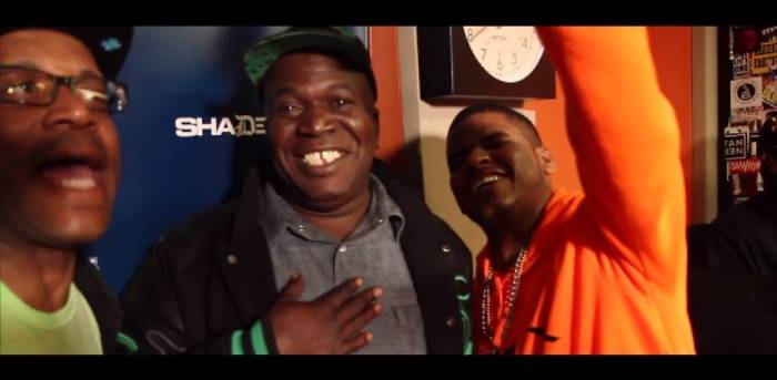 weekendwork Barrington Levy Visits 'Weekend Work' With DJ Caesar & Coach PR On Shade45 (Video)
