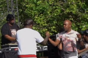Watch As Too $hort & E-40 Join 50 Cent At California's KSFM 102.5 Live!