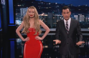 Iggy Azalea On Jimmy Kimmel Live (Video)