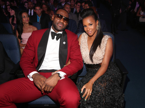 Lebron and wife  All in the Family: Is Lebron James expecting his First Daughter?