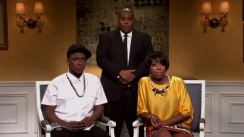 SNL_Spoofs_Solanges_Elevator_Attack_On_Jay_Z SNL Spoofs Solange's Elevator Attack On Jay Z (Video)