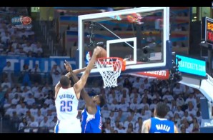Oklahoma City Thunder guard Thabo Sefolosha POSTERIZES Los Angeles Clippers center DeAndre Jordan (Video)