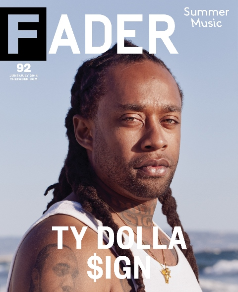 Ty-Dolla-Sign-Fader-Cover-Magazine-2014-HHS1987 Ty Dolla Sign Cover's Fader Magazine
