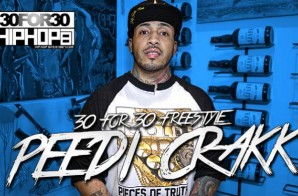 [Day 30] Peedi Crakk – 30 for 30 Freestyle (Video)