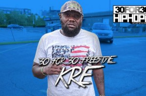 [Day 22] Kre Forch – 30 For 30 Freestyle (Video)