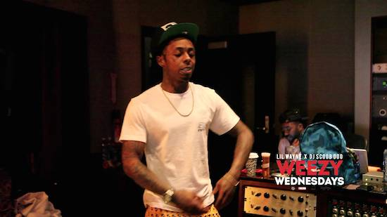 lil-wayne-weezy-wednesday-episode-14-side-bitches-video-HipHopSince1987.com-2014