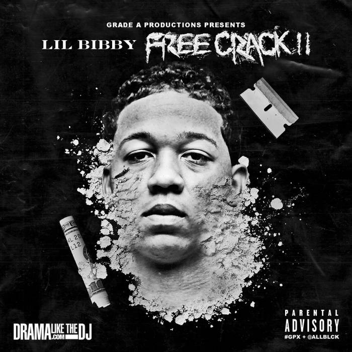 Lil Bibby   Free Crack II (Mixtape Artwork)