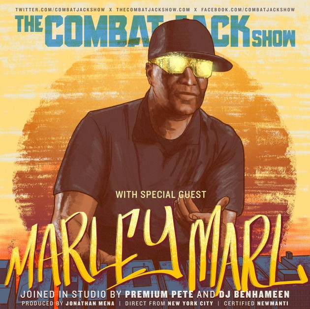 "marleymarlthecombatjackshow Hip Hop Pioneer Marley Marl Talks Discovering Rakim, Producing ""The Bridge Is Over"", The Juice Crew & More on The Combat Jack Show! (Audio)"