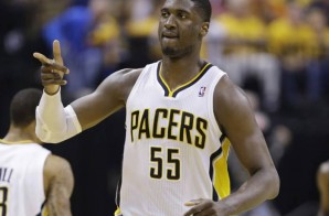 Indiana Pacers Center Roy Hibbert leads the Pacers to a Game 2 Win Against the Wizards (Video)