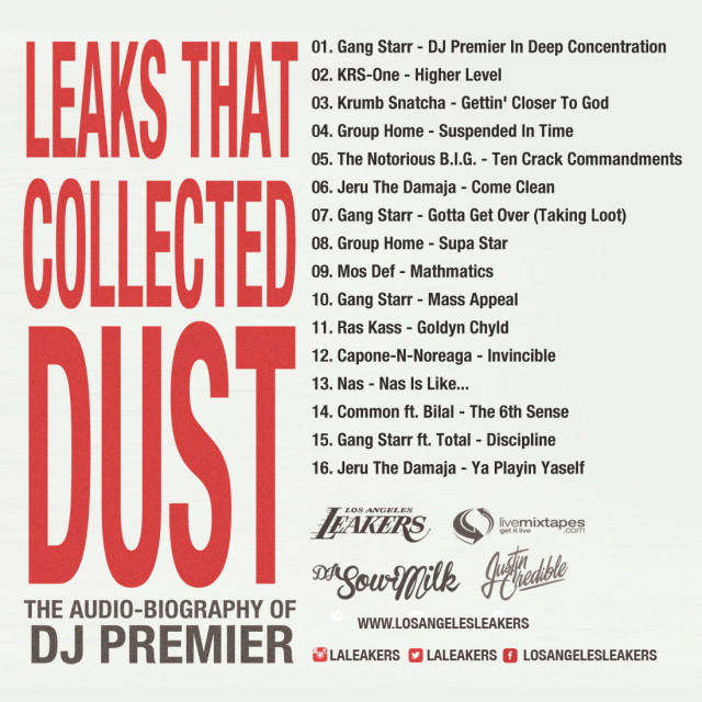 premoaudio_back-640x640 LA Leakers - Leaks That Collected Dust: The Audio Biography Of DJ Premier (Mixtape)