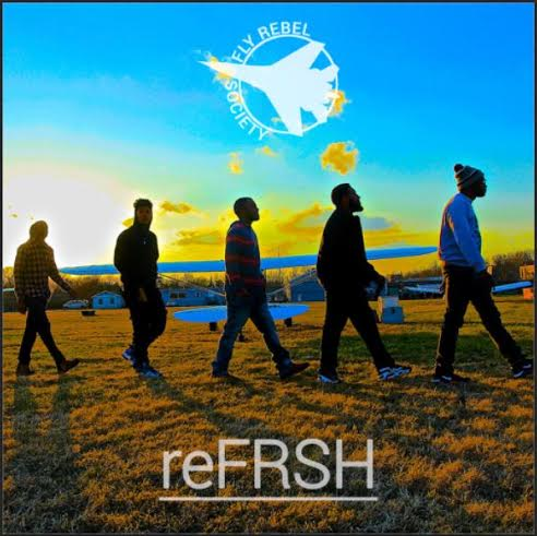 refreshalbumcover Fly Rebel Society   reFRSH (Album Stream)