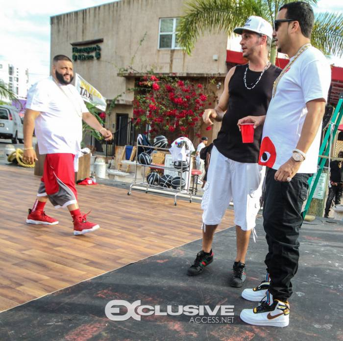 rr2 DJ Khaled   They Dont Love Me You No More Ft. Meek Mill, Rick Ross & French Montana (BTS Photos)