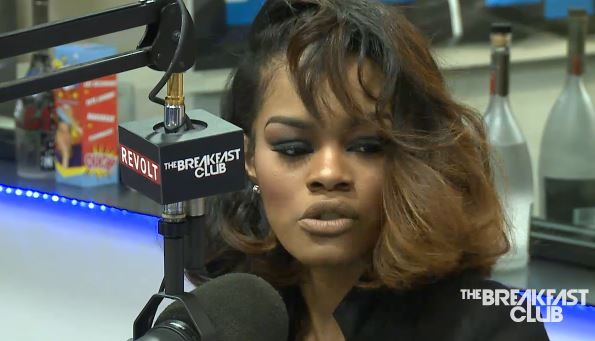 teyana taylor breakfast club