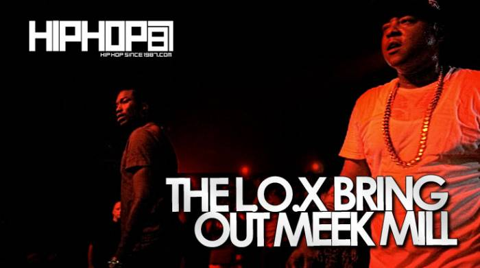 The Lox Bring Out Meek Mill At The TLA In Philly (05/13/14) (Video)