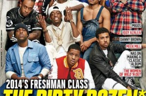 XXL Magazine Reveals It's 2014 Freshman Class Cover! (Photo)